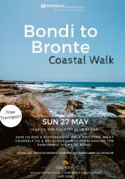 Bondi to Bronte Day trip for Residents 2018
